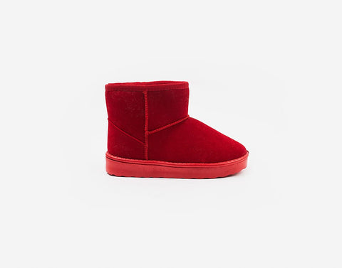 Winterful Boots-Red