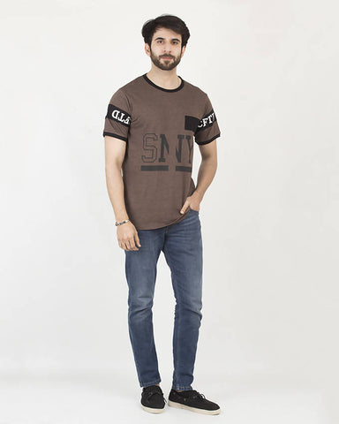 Crafted Mens SNY Graphic Tee CTSM19-02-M