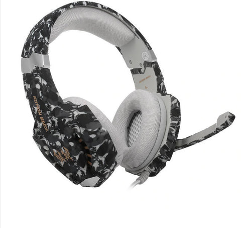 KOTION EACH G9600 Camouflage Gaming Headset Noise Canceling Headset