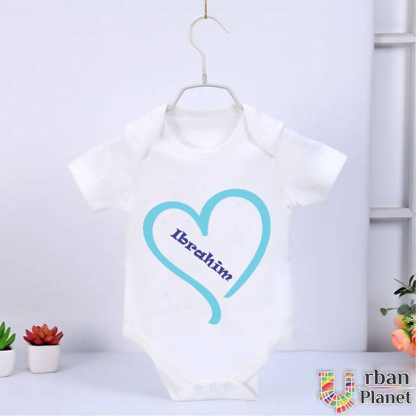 Customized Baby Rompers (Half Sleeve) - Ibrahim