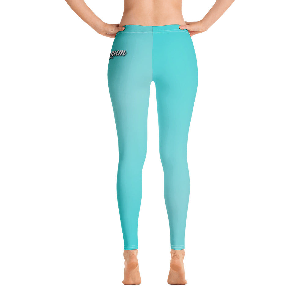 NEON BLUE LEGGINGS! - OG Magnum