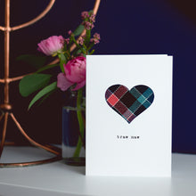 Braw Maw Scottish tartan Mother's Day card