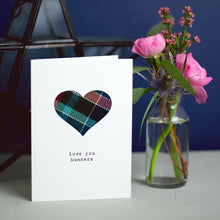 cute tartan Scottish Mother's day card