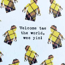 Load image into Gallery viewer, Welcome Wee Yin Patter Card