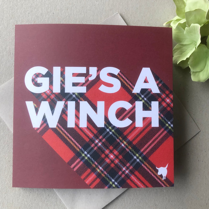 Gie's A Winch (printed)