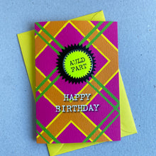 Load image into Gallery viewer, Happy Birthday Auld Fart Badge Card