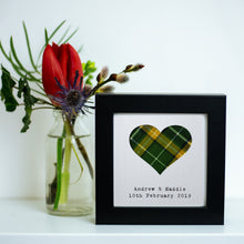 Load image into Gallery viewer, Wee Personalised Wedding Frame