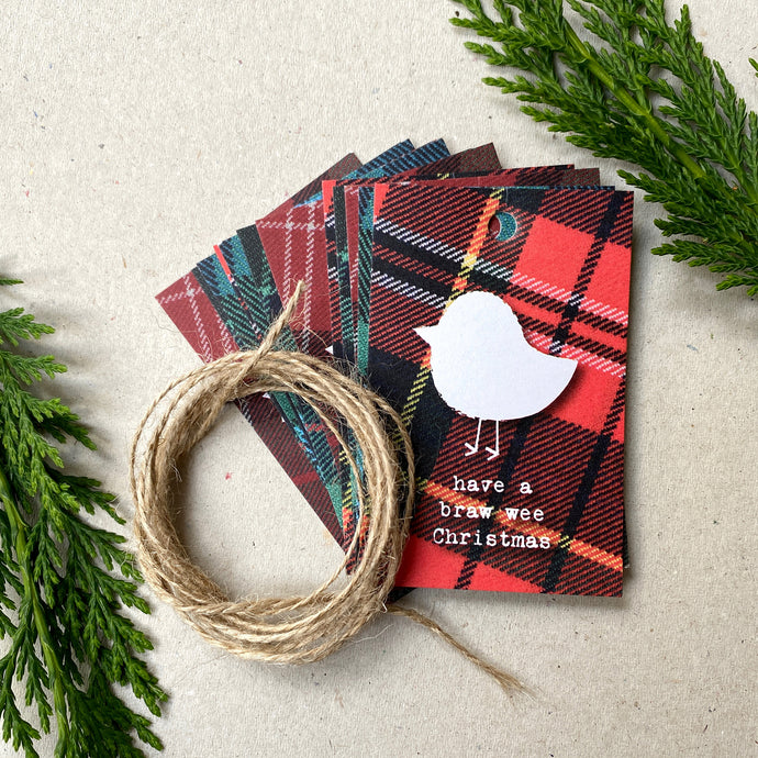 Christmas Gift Wrap Tags