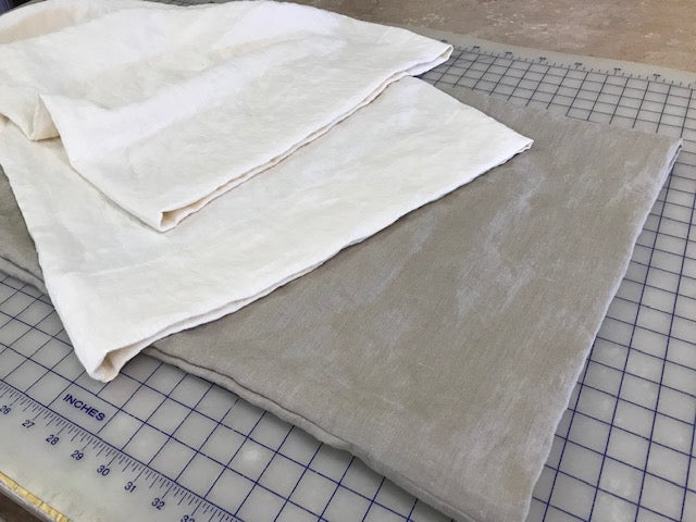 Basic Washed Linen Pillow Cases-One Pair of Tailored Pillow Cases