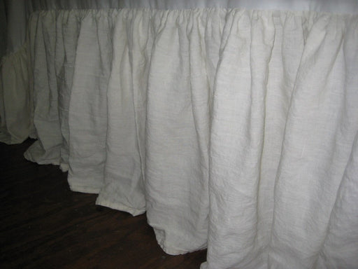 Gathered Bed Skirt - Washed Linen - Twin-Full-Queen-King