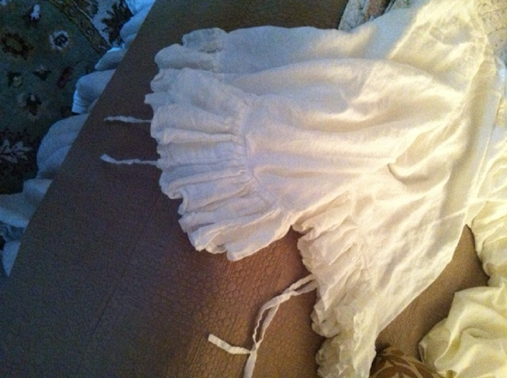 Romantic Linen Bedding-Vintage White Medium Weight Washed LinenBedding-Ruffled Duvet-Long Gathered Bed Skirt-Ruffled Pillowcase Shams