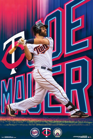 Minnesota Twins - Joe Mauer Wall Poster