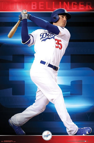 Los Angeles Dodgers - Cody Bellinger Wall Poster