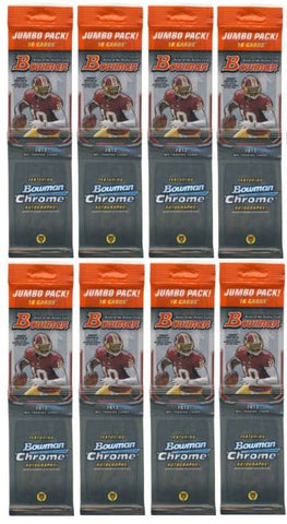 2013 Bowman Football Cards Unopened Sealed Rack Value Pack-16 Cards Per Pack