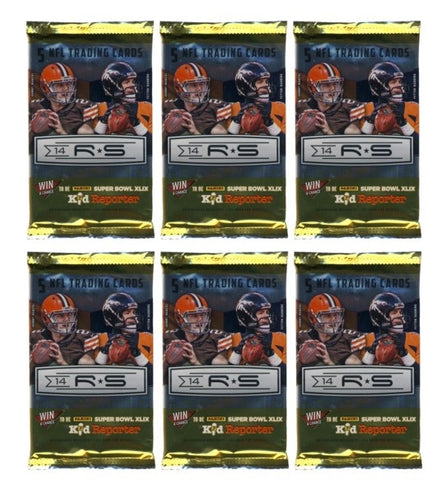 2014 Rookies Stars Longevity Football Trading Cards Unopened Sealed PACK-1 PACK