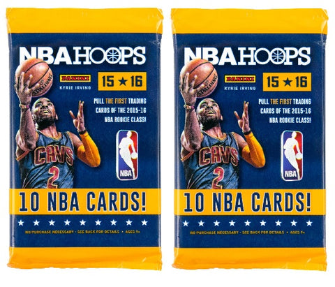 2015-16 Panini Hoops Basketball Pack-New Sealed-10 Cards Per Pack-2 Packs