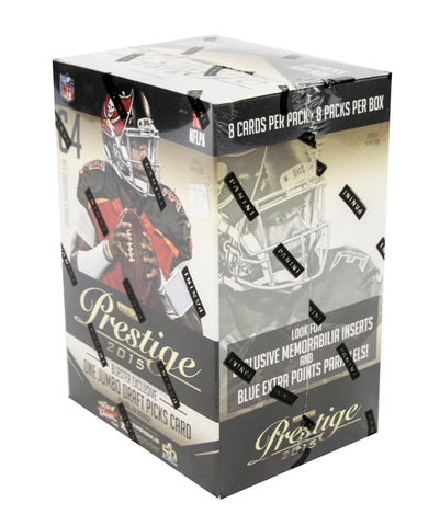2015 Prestige Panini Football - Unopened Sealed Box