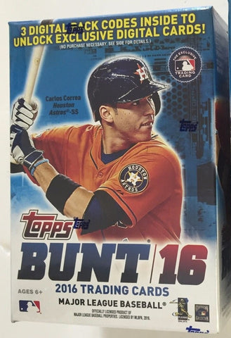 2016 Topps Bunt Baseball - Unopened Sealed Box