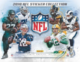 One Pack - 2018-19 Topps NFL Football - Sticker Pack - 5 Stickers Per Pack