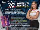 1 Pack - 2018 Topps WWE Women's Division-Unopened_Sealed-7 Cards Per Pack-Hobby