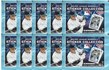 One Pack - 2018 Topps Baseball - Sticker Pack - 8 Stickers Per Pack