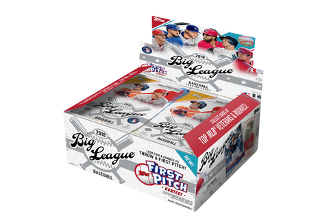 1 Pack - 2018 Topps Big League Baseball-Unopened Sealed-10 Cards Per Pack-Hobby