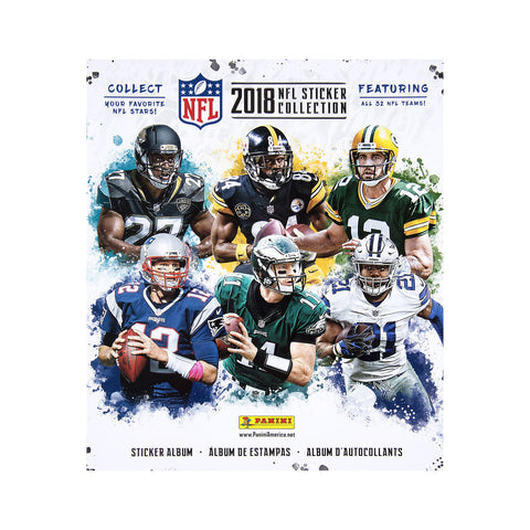 Sticker Album - 2018-19 Topps Football NFL + 4 Free Stickers Included Inside
