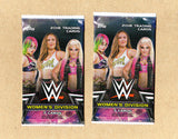 2 Packs - 2018 Topps WWE Women's Division-Unopened_Sealed-7 Cards Per Pack-Hobby
