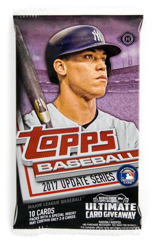 1 Pack - 2017 Topps Baseball - Update Series - Hobby