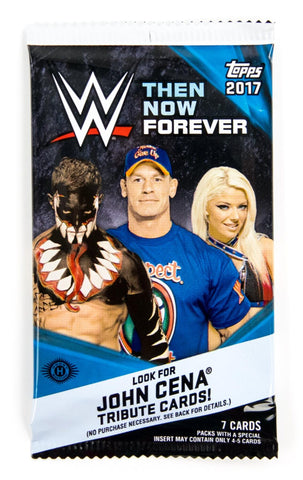 1 Pack - 2017 Topps WWE Then Now Forever - Hobby