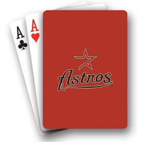 Houston Astros - Playing Cards