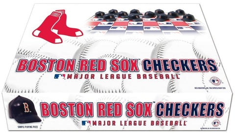 Boston Red Sox - Checker Set