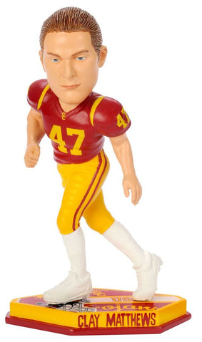 Clay Matthews - USC Trojans - Forever Collectibles - Bobblehead Figure