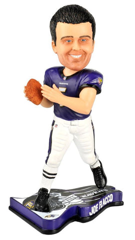 Joe Flacco - Baltimore Ravens - Pennant Base - Bobblehead Figure