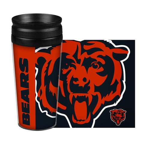 Chicago Bears - Travel Mug - 14 oz Full Wrap Style Hype Design
