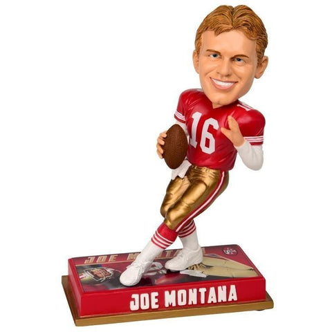 Joe Montana - San Francisco 49ers - Bobblehead Figure - 8 Inch