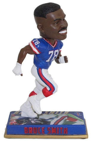 Bruce Smith - Buffalo Bills - Bobblehead - 8 Inch Figure