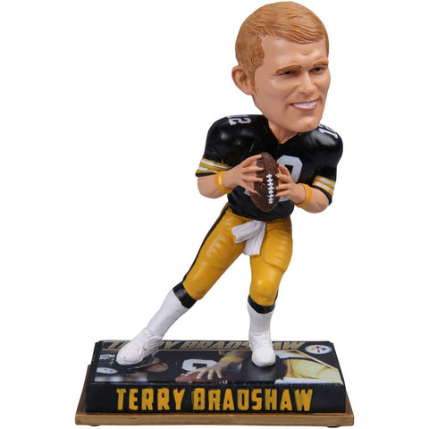 Terry Bradshaw - Pittsburgh Steelers - Bobblehead Figure