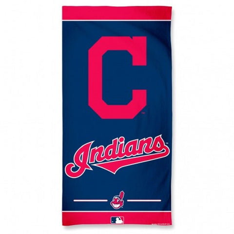 Cleveland Indians - Towel - 30 x 60 Beach Style