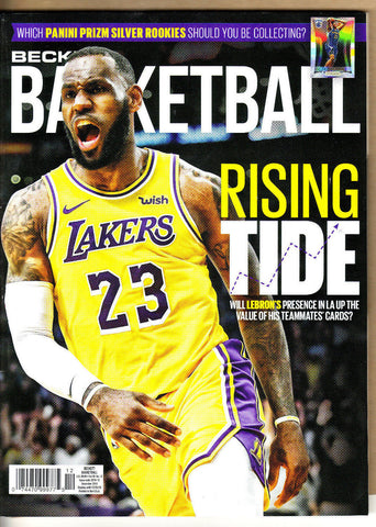 Beckett Basketball Price Guide-December 2018-Lebron Cover-315-Paperback-29-12