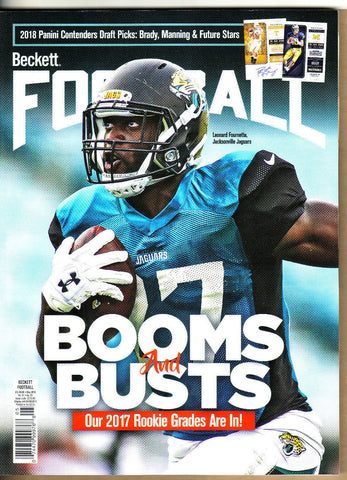 Beckett Football Price Guide-May 2018 Fournette Cover-328-Paperback-31-5