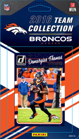 Broncos 2016 Donruss Team Set Elway, Paxton Lynch Rookie, Miller-Factory Sealed