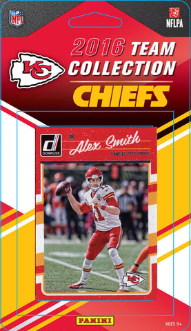 Chiefs 2016 Donruss Team Set Alex Smith, Kelce, Jamaal Charles-Factory Sealed