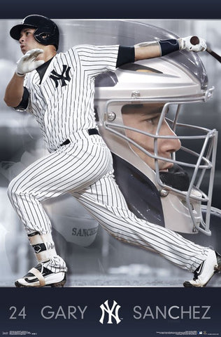 New York Yankees - Gary Sanchez Wall Poster