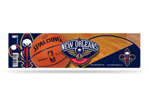 New Orleans Pelicans - Sticker - Bumper - 11 x 3 Inches NBA - Licensed New