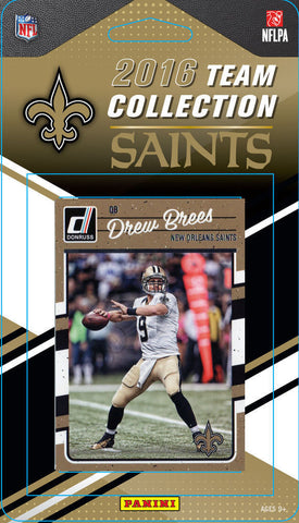 Saints 2016 Donruss Team Set Brees, Cooks, Snead, Michael Thomas-Factory Sealed