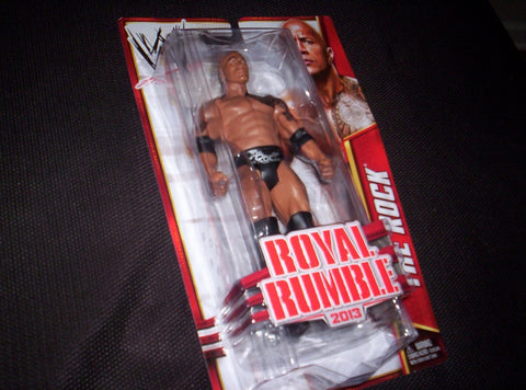 WWE - The Rock - Action Figure - Royal Rumble