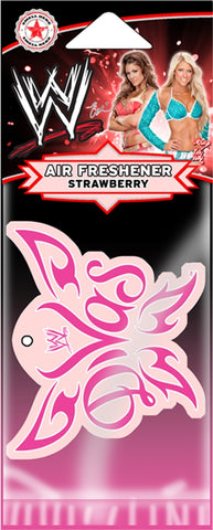 WWE - Air Freshener-Divas-Total Divas-WWE-Strawberry-Licensed New In Pack-Sealed
