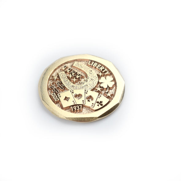 14k Gold Luck Ball Marker