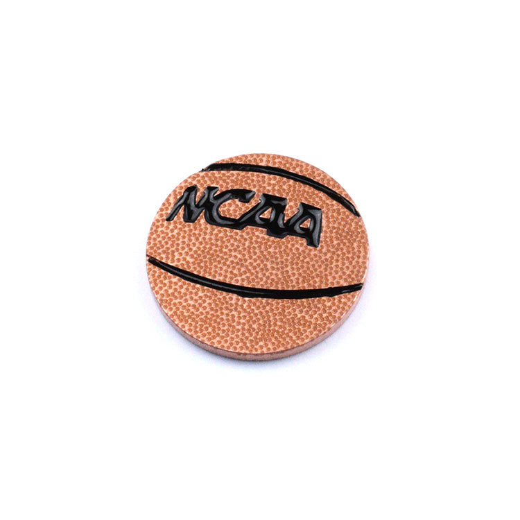 Basketball Ball Marker - Copper